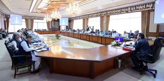 Federal cabinet discusses prevailing situation in occupied Kashmir