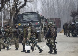 Indian troops martyr four Kashmiris as lockdown continues for 17th day