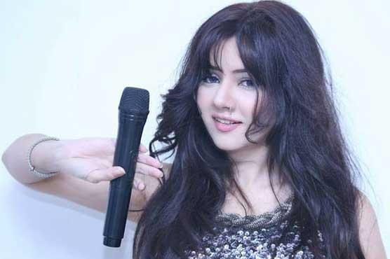Singer-cum-actress Rabi Pirzada sings for Kashmir and Pakistan