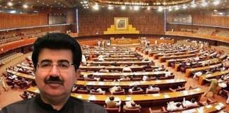 Chairman Senate Sadiq Sanjrani survives no-confidence motion