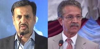 Karachi Mayor Waseem Akhtar suspends Mustafa Kamal as Project Director Garbage