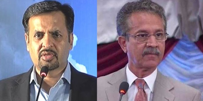 Karachi Mayor Waseem Akhtar suspends Mustafa Kamal as Project Director Garbage