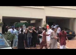 Abid Ali's funeral prayers offered in Karachi