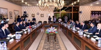 China reaffirms its support to Pakistan on Kashmir issue