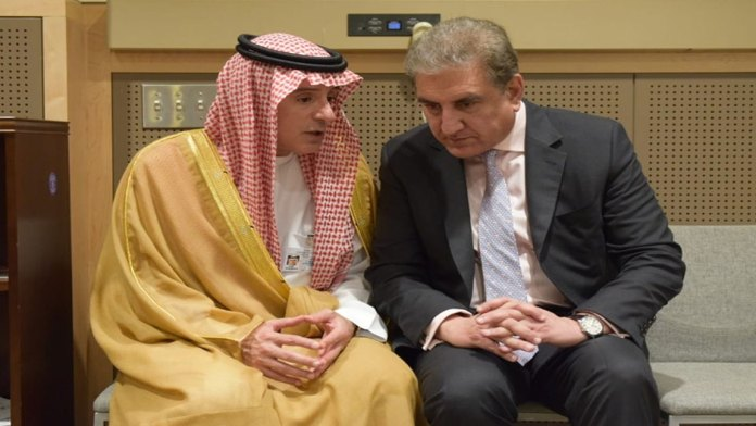 Pak-Saudi FMs agree to continue joint efforts for regional peace