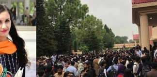 Students boycott classes after female student's death at university in Islamabad