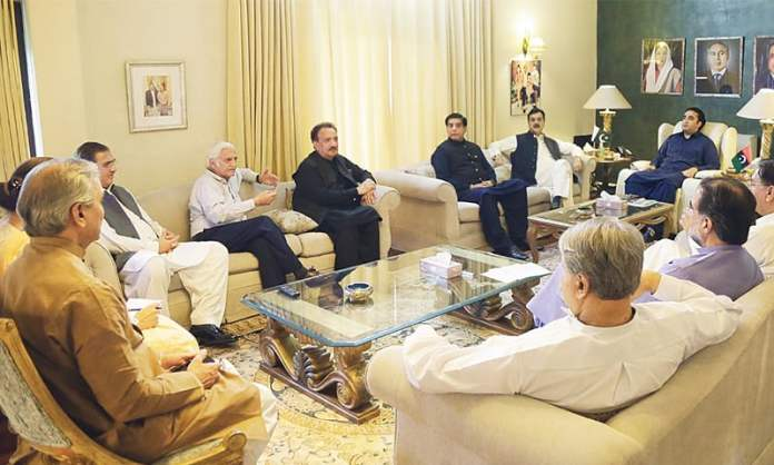 PPP core committee to discuss strategy for JUI-F's Azadi March