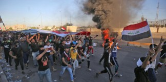 UN says 'this must stop' after Iraqi protest violence kills nearly 100