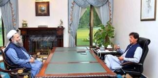 PM Imran tasks Noorul Haq Qadri to contact Maulana Fazlur Rehman
