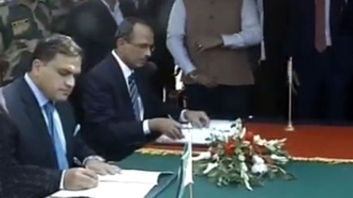 Pakistan, India sign agreement to operationalize Kartarpur Corridor