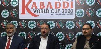 Pakistan to host Kabadi World Cup 2020