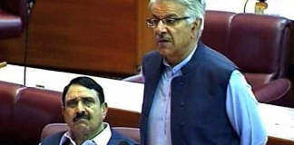 PML-N guarantee that Nawaz Sharif will return after treatment: Khawaja Asif