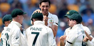Australia bowled out Pakistan for 240 runs in first innings of 1st test