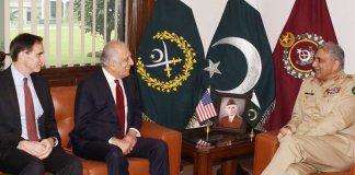 US envoy Zalmay Khalilzad, COAS discuss Afghan reconciliation process