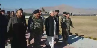CM Mahmood Khan reviews development projects in Mohmand tribal district