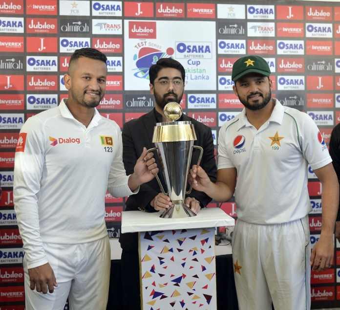 First match of Pakistan, Sri Lanka Test series begins tomorrow