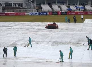 Fourth day's play called off in Pakistan, Sri Lanka Test