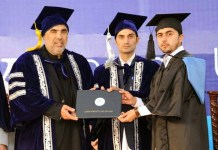 710 students awarded degrees in joint convocation of UoS & WUS