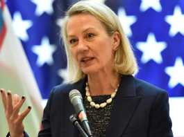 Alice Wells 'strongly urges' Pakistan to follow FATF action plan