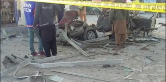 Blast at CNG station kills two, injures three in Peshawar