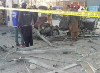 Blast at CNG station kills two, injures three in Peshawar