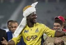 Darren Sammy to get honorary citizenship of Pakistan: Javed Afridi