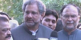 IHC issues release orders for Khaqan Abbasi, Ahsan Iqbal
