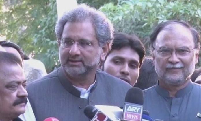 IHC issues release orders for Khaqan Abbasi, Ahsan Iqbal