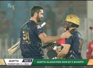 PSL 2020: Quetta Gladiators beat Islamabad United in nail-biting contest