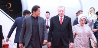 Turkish President Erdogan arrives in Islamabad on two-day visit
