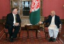 Pompeo meet Afghan President, Taliban on surprise Afghan mission