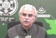 Govt to toughen lockdown if non-compliance with SOPs continued: Dr Zafar Mirza