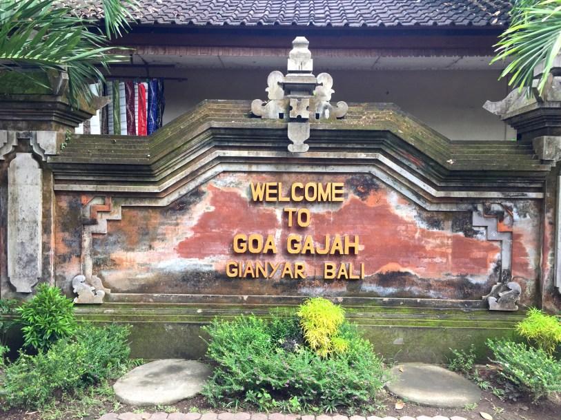 Goa Gajah Elephant Cave Bali Indonesia