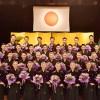 美人の宝塚音楽学校卒業式