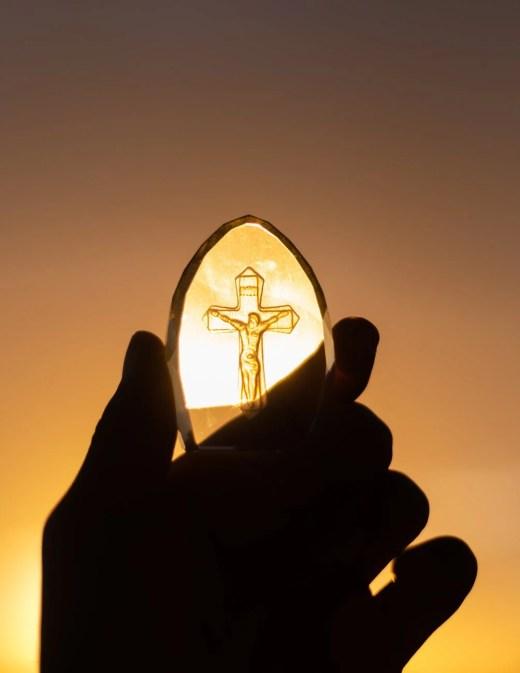 gold crucifix