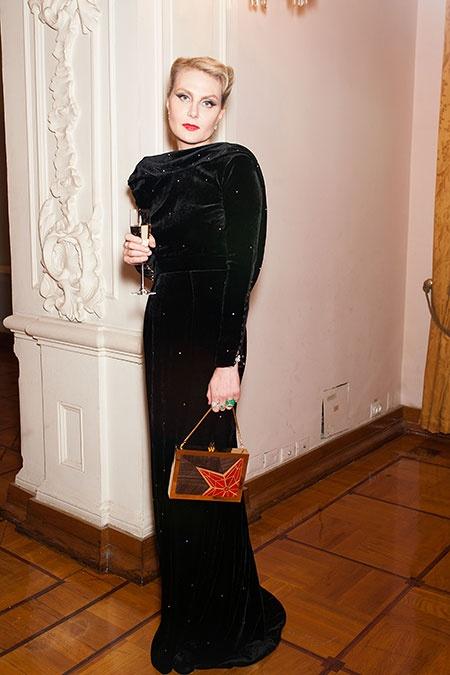 Рената Литвинова. Фото: Александра Погиба/TATLER