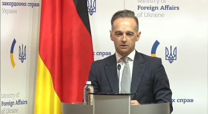Глава МЗС Німеччини Хайко Маас: останнім часом на Сході України досягнуто великого прогресу