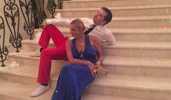 Волочкова показала нового возлюбленного Анастасия Волочкова и Михаил Борисовский