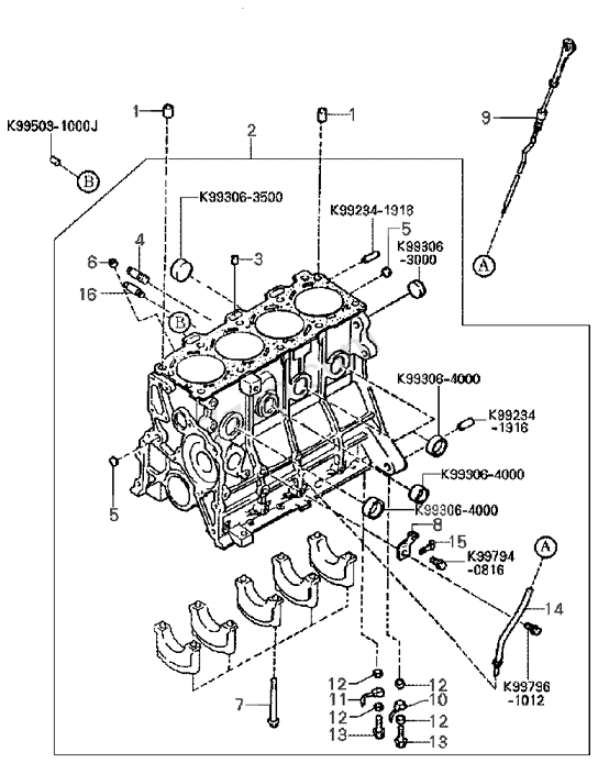 1997 Kia Engine Diagram • Wiring Diagram For Free