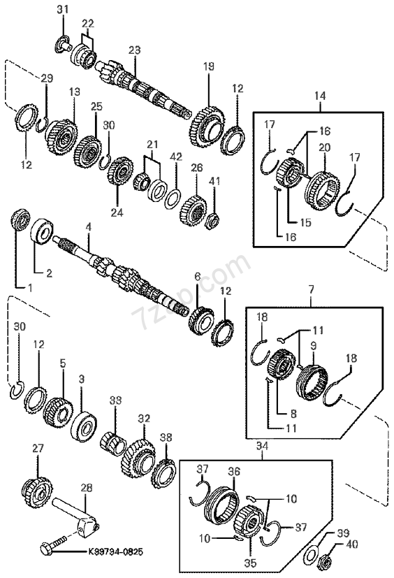 File: 1996 Kium Sephium Engine Diagram