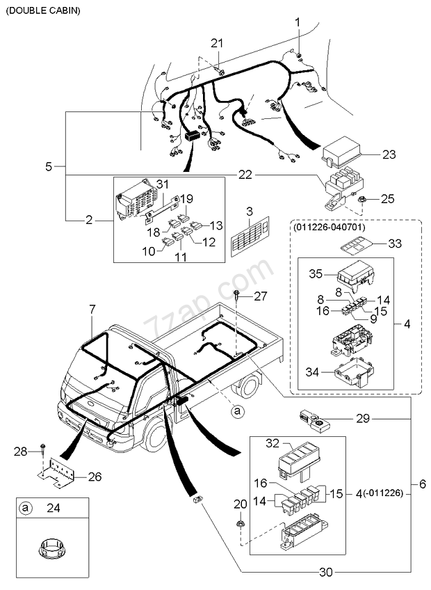 KIA K2700 Fuse Box Location. KIA. Vehicle Wiring Diagrams