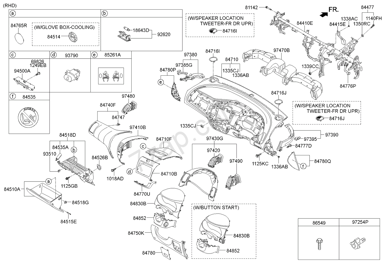 Kia Cerato Fuse Box Diagram