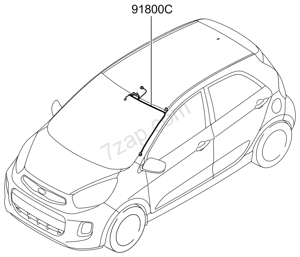 MISCELLANEOUS WIRING (02/03) KIA MORNING/PICANTO 15 (2015