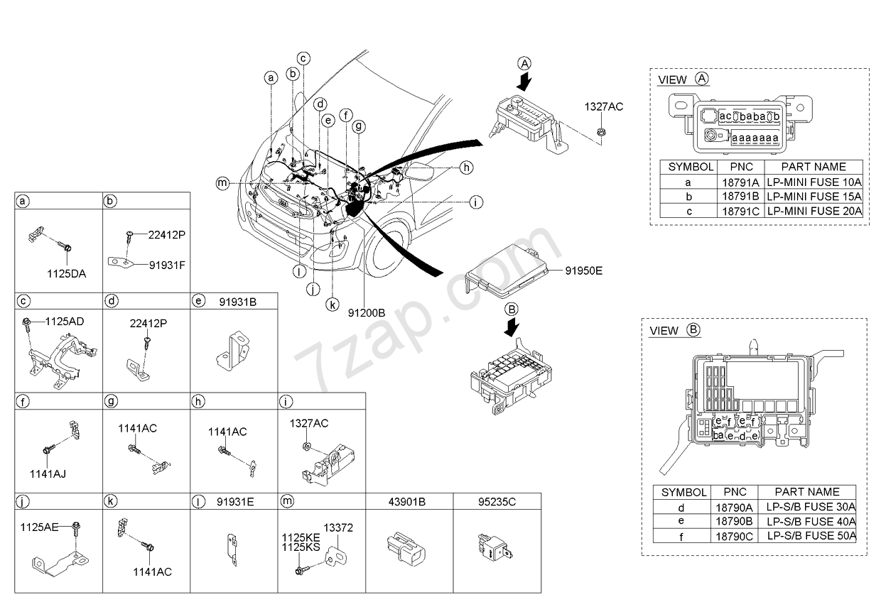hight resolution of front wiring kia morning picanto 11 2011 2015 general front wiring kia