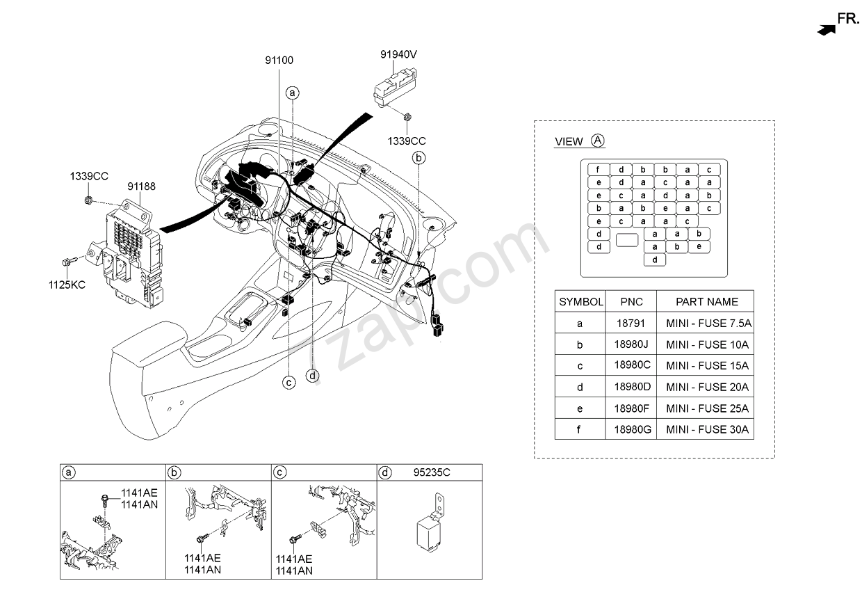 hight resolution of kia cerato fuse box diagram wiring librarykia cerato fuse box diagram