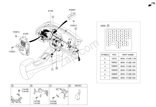 small resolution of kia cerato fuse box diagram wiring librarykia cerato fuse box diagram