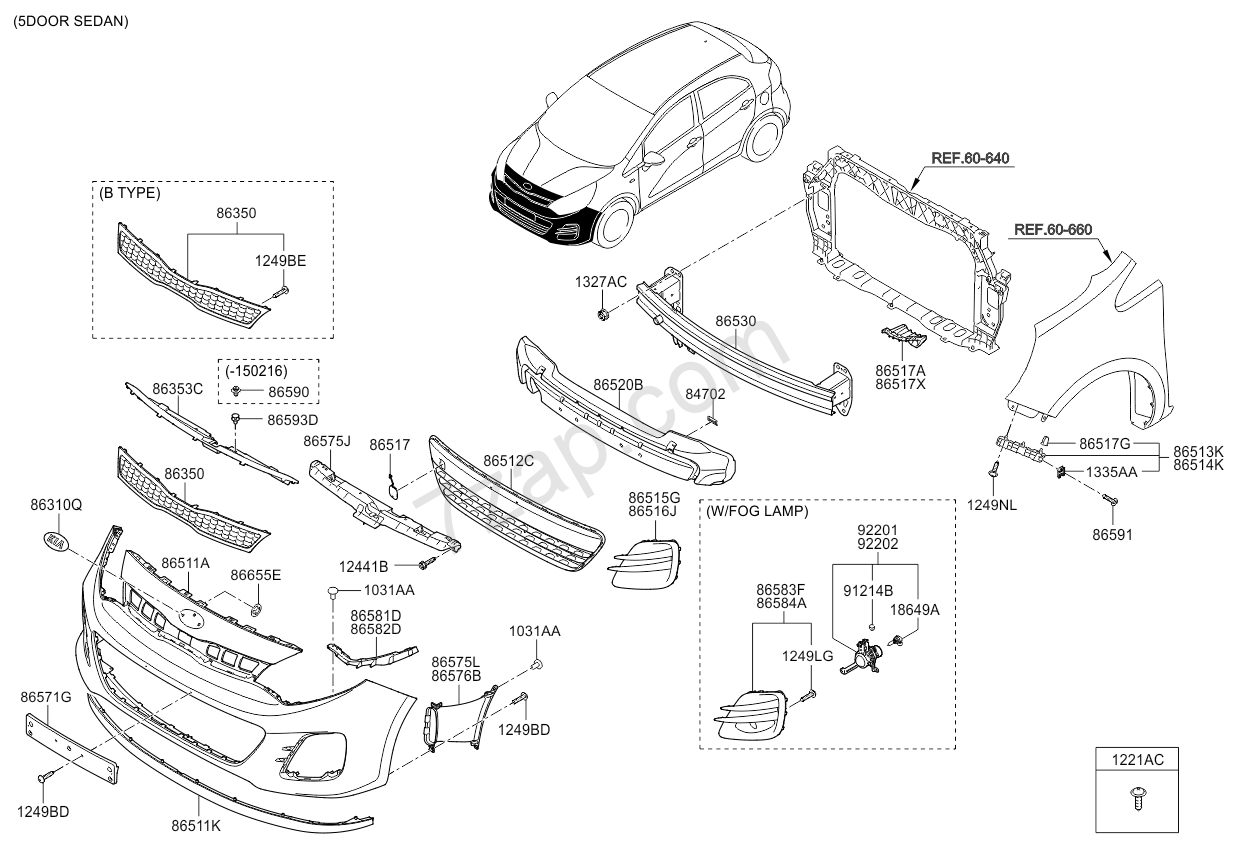 Service manual [How To Remove Front Bumper 2013 Kia Rio