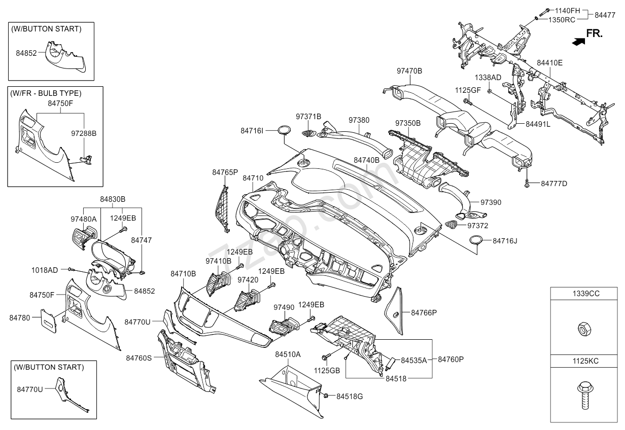 [WRG-1887] Kia Carens Fuse Box Diagram