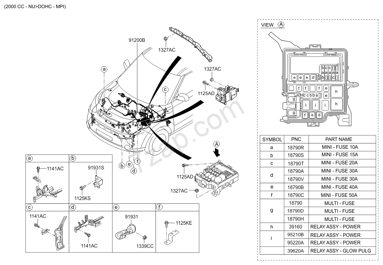 CONTROL WIRING (02/02) KIA SOUL 13 (2013-) [Middle East]