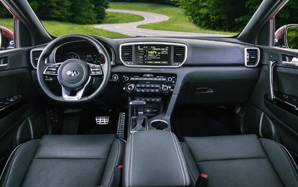 2021 KIA Sportage SX Turbo Interior